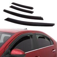 For 2010-2015 Chevy Cruze 4pcs Smoke Window Sun Rain Visor Guard Wind Deflector