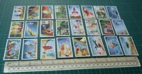 1954 Mischief Goes To Mars. Wrights Biscuits Complete Trade Card Set 24/24