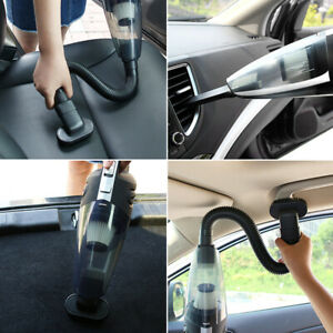 120W RECHARGEABLE CORDLESS WET/ DRY CAR HOME VACUUM CLEANER PET HAIR DUST BUSTER