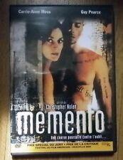 DVD Memento Guy Pearce Carrie Anne Moss