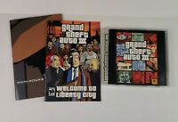 PC Game Grand Theft Auto III Discs, Manual, Poster - FREE SHIPPING