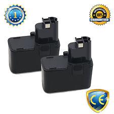 2PCS 12V 2000mAh Flat-shape Drill battery for BOSCH PSB 12VSP-2,PSR 120,12VES-2
