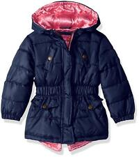 Pink Platinum Baby Girls Anorak Jacket, Navy, 12M