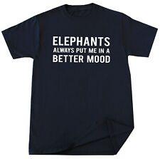 Elephants Lover T-shirt Save Elephants Gift Idea Funny Humor Animal Slogan Tees