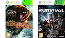 Cabelas Survival Shadows Of Katmai & Cabelas Dangerous Hunts 2013   xbox 360+one