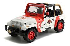 JADA Jurassic World Movie JP Staff Jeep Wrangler 1:24 Diecast Car