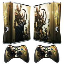 Alien 122 Vinyl Decal Sticker Cover For xbox360 slim Console&Controller Skins