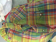 Polo by Ralph Lauren Western  long sleeve snap shirt men's XL