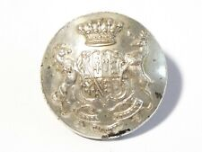 More details for 19thc albert denison 1st baron londesborough silvered livery button 32mm #33