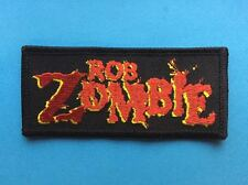 Rob Zombie Rock Music Iron On Hat Jacket Backpack Hoodie Patch Crest