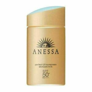 60ml SHISEIDO ANESSA Perfect UV Japan Sunscreen Skincare Milk SPF 50+ PA++++