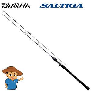 Daiwa SALTIGA BJ THRILL GAME 62XXHB TG V Ultra Extra Heavy baitcasting rod 2019