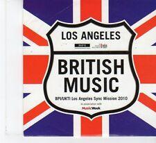 (FR31) Los Angeles - British Music 2010, 22 tracks various artists - 2010 CD