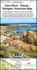 ROOFTOP'S CANN RIVER - ORBOST - DELEGATE ADVENTURE MAP - WALKING 4WD TRACK