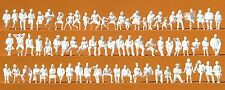 Preiser 16358 H0, Sitzende Personen, 72 unbemalte Figuren, Bausatz, Neu