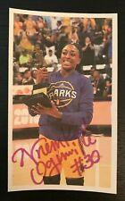 NNEKA OGWUMIKE WNBA Los Angeles Sparks Autographed Custom 3x5 Index Card