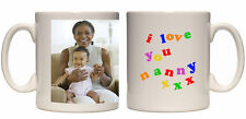 Christmas gift I love you Nanny personalised mug custom xmas present your photo