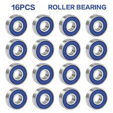 16pcs ABEC-9 Frictionless Skateboard Roller Skate Wheels Scooter Spare Bearings
