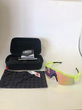 Sun Glasses, 100% Speedcraft, Road, MTB. Orange/White
