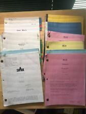 9 misc Movie/TV Scripts - NCIS, Shark, Boondock, etc