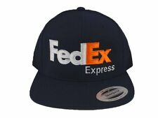 FedEx Express Snapback Hat Cap Yupoong Adjustable Dark Navy