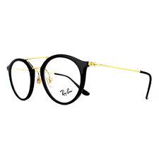 Ray-Ban Glasses Frames 7097 2000 Shiny Black 47mm Mens