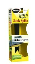 Sweeney's Sonic Solar Powered Mole & Gopher Repellent Spike Covers 7,500 sq ft