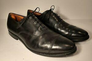 """Allen Edmonds """"Park Avenue"""" Cap-Toe Men's Oxfords Size 13 D Black Made in USA"""