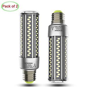 2-Pack E26 LED Bulb 20W, Super Bright Led Corn Light Bulbs Equivalent 200 Watt,