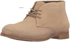 JOHNSTON & MURPHY women's HAYDEN Ankle CHUKKA BOOTS Lace Up Tan SAND Suede 9.5 M