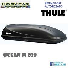 BAULE BOX DA TETTO AUTO PORTATUTTO THULE OCEAN M (200) ANTRACITE NERO