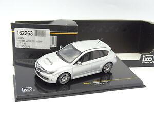 Ixo 1/43 - Subaru Impreza WRX STI 2008 Silver