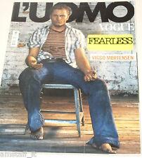 L'UOMO VOGUE MAGAZINE=2004/350=VIGGO MORTENSEN PHOTOS BY STEVEN KLEIN=