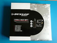 New Dunlop Golfers Golf Boxed Gift Sets Balls Tees Brushes Ball Pouch