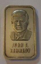 RARE 1 Oz. JFK JOHN F. KENNEDY .999 Silver Bar 1973
