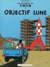 "18x24""Decoration Canvas.Interior design Art.Tin dog.French.Tintin rocket.6386"