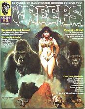 Creeps Magazine 2 Spring 2015 Warrant Creepy Eerie Horror Comic Warren NEW *READ