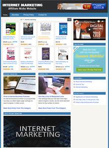 INTERNET MARKETING - Affiliate Website For Sale - Free Installation