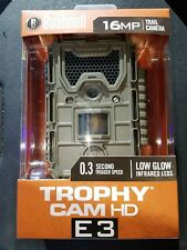 New 2017 Bushnell Trophy Cam HD E3 Essential 16 MP Infrared Game Camera