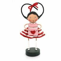 LORI MITCHELL Secret Admirer Valentine's Day Folk Art Figurine Free Shipping NIB