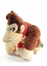 "NEW AUTHENTIC 9"" Donkey Kong plush doll by Little Buddy Super Mario Brothers"