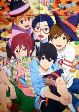 Free Eternal Summer es / Yowamushi Pedal poster promo long Iwatobi Swim Club big