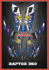 Yamaha RAPTOR350 RAPTOR 350 SEMI CUSTOM GRAPHICS KIT LIGHTNING2