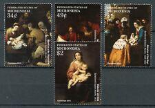 Micronesia 2015 MNH Christmas Bartolome Esteban Murillo 4v Set Art Stamps