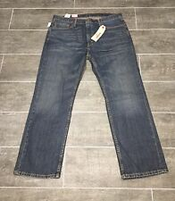 Levi's Strauss Denim Blue Jeans 559 Men's Relaxed Straight sz 34x32 - A0