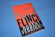 Flinch: A Novel by Robert Ferrigno (2001) 1st ed signed autographed (AdvanceRE)