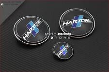 3 Pièces Logo Badge Embleme BMW Hartge E46 E90 E91 E87 320I 323I 330CI 330I M3