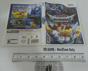 Spectrobes Origins Nintendo Wii Case Only NO GAME