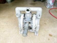 1 inch Double diaphragm pump oil diesel water as new