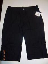 Women black Capri pants size Large. By Tek Gear.